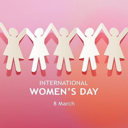 International Women's Day Paper Chain