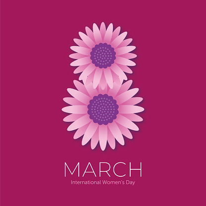 International Women's Day template for advertising, banners, leaflets and flyers