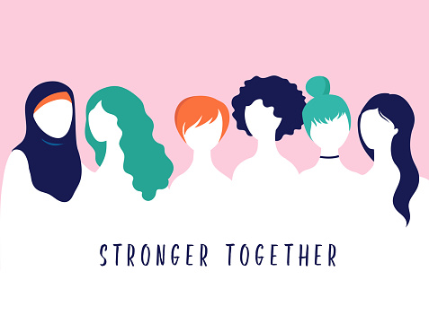 International Women's Day. Vector illustration, card, poster, flyer and banner.