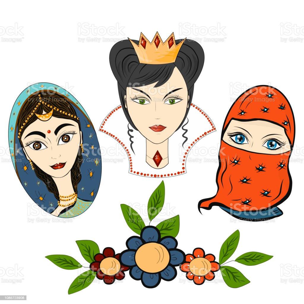 Ilustración De Día Internacional De La Mujer Estilo De Dibujos