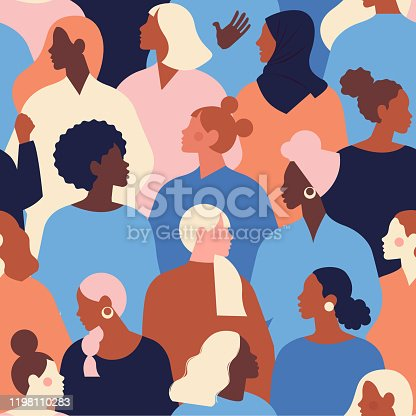 International Women's Day. Vector templates for card, poster, flyer and other users.