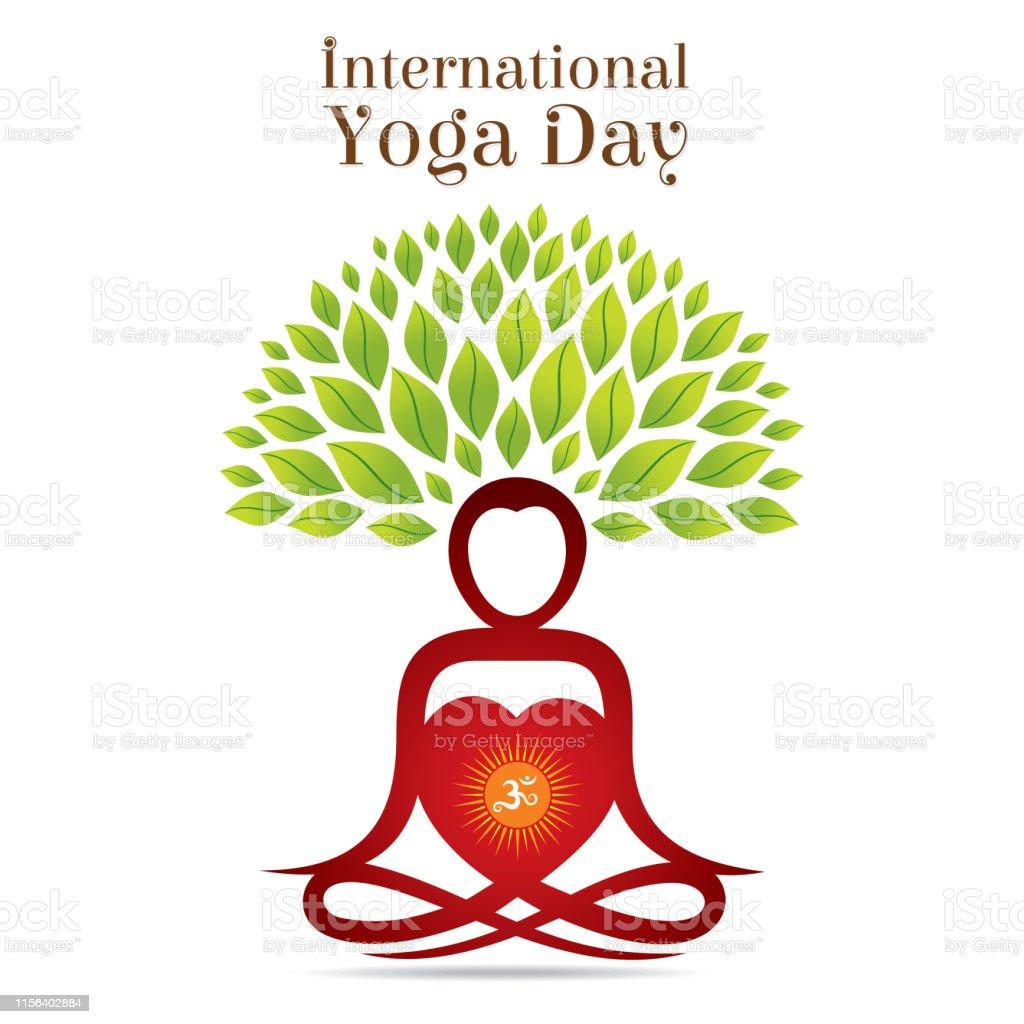 International Yoga Day Poster Design Stock Illustration Download Image Now Istock