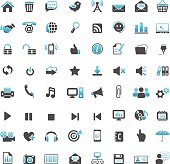 illustration of internet and web icons series for your design and products.