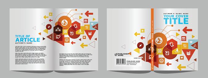 Internet Book cover & article design