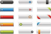 Modern collection of Internet buttons for your multimedia projects.