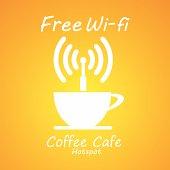 Internet cafe poster design,