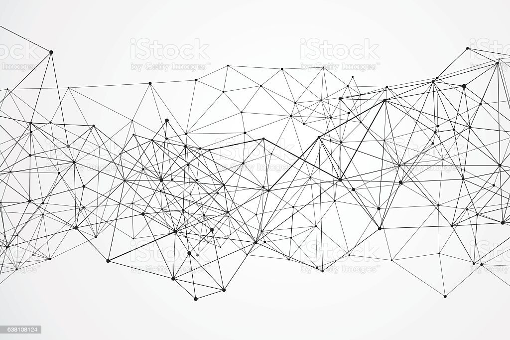 Internet connection, abstract sense of science and technology graphic design. vector art illustration