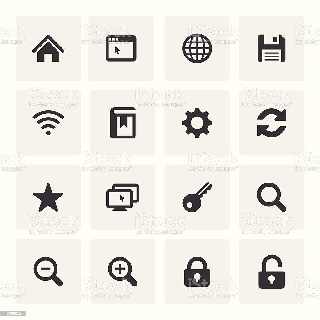 Internet Icon Set (Saro Series)