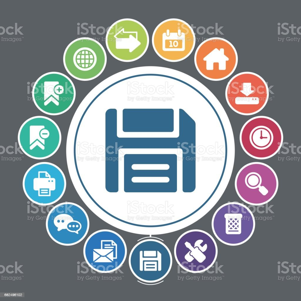 Internet icons royalty-free internet icons stock vector art & more images of address book