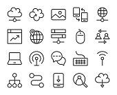 Internet - Line Icons
