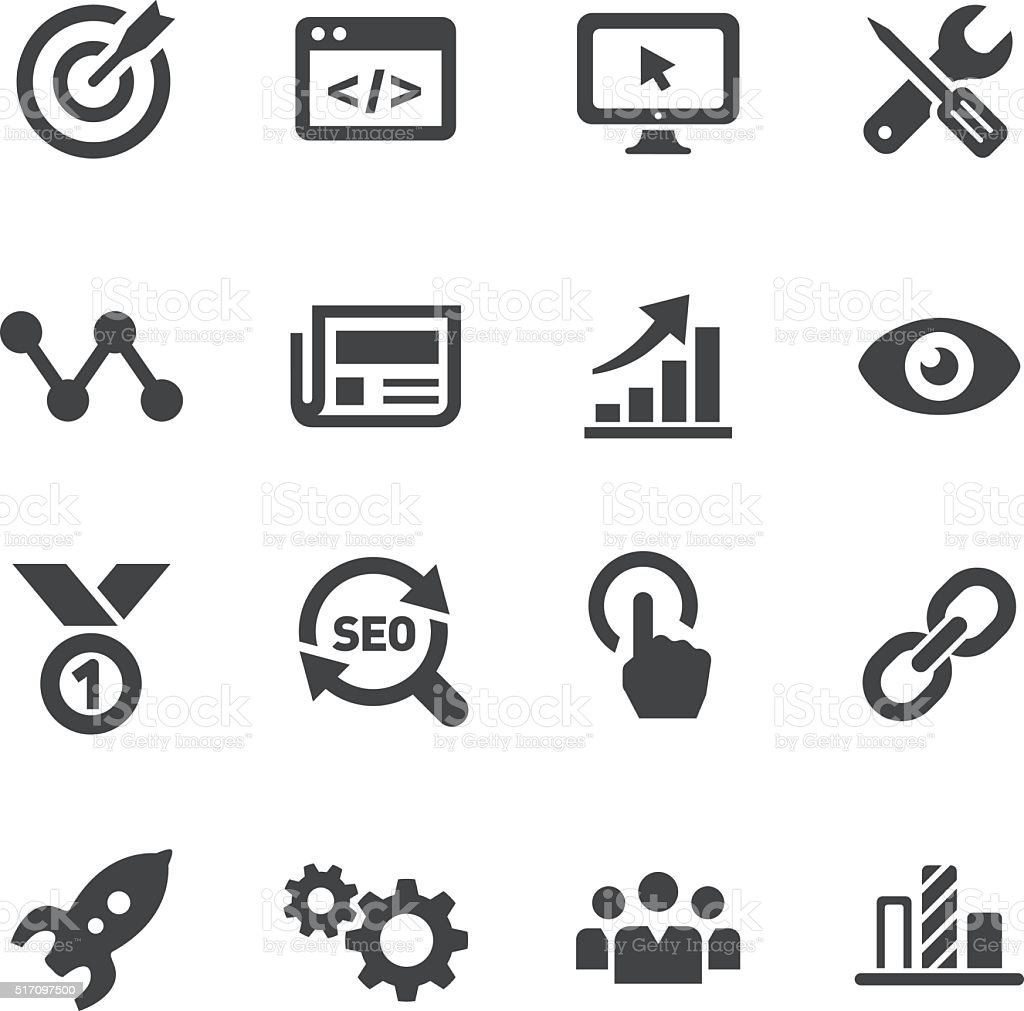 Internet Marketing Icons - Acme Series royalty-free stock vector art