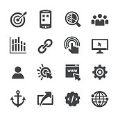 Internet Marketing Icons Set - Acme Series