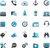 Internet Marketing icons set