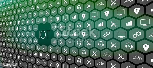 620974266 istock photo Internet of things (IoT) and networking concept for connected devices. 1226004224