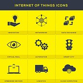 Internet of Things Icons Set