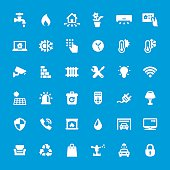 Internet of Things vector icons - set #31