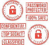 Internet security - rubber stamps