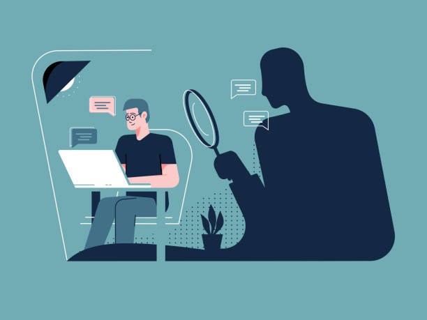 241 Cyber Stalking Illustrations & Clip Art - iStock