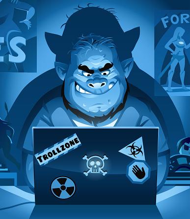 Internet Troll At Night