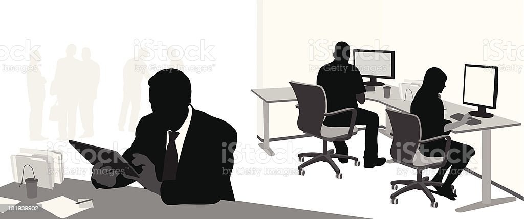 Internet vector art illustration