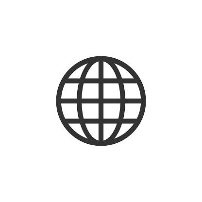 Internet world vector