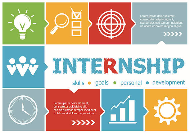 Royalty free internship clip art vector images for Design consultancy internship