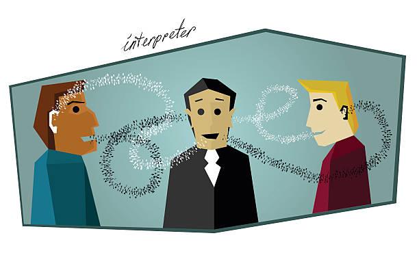 Interpretación - ilustración de arte vectorial