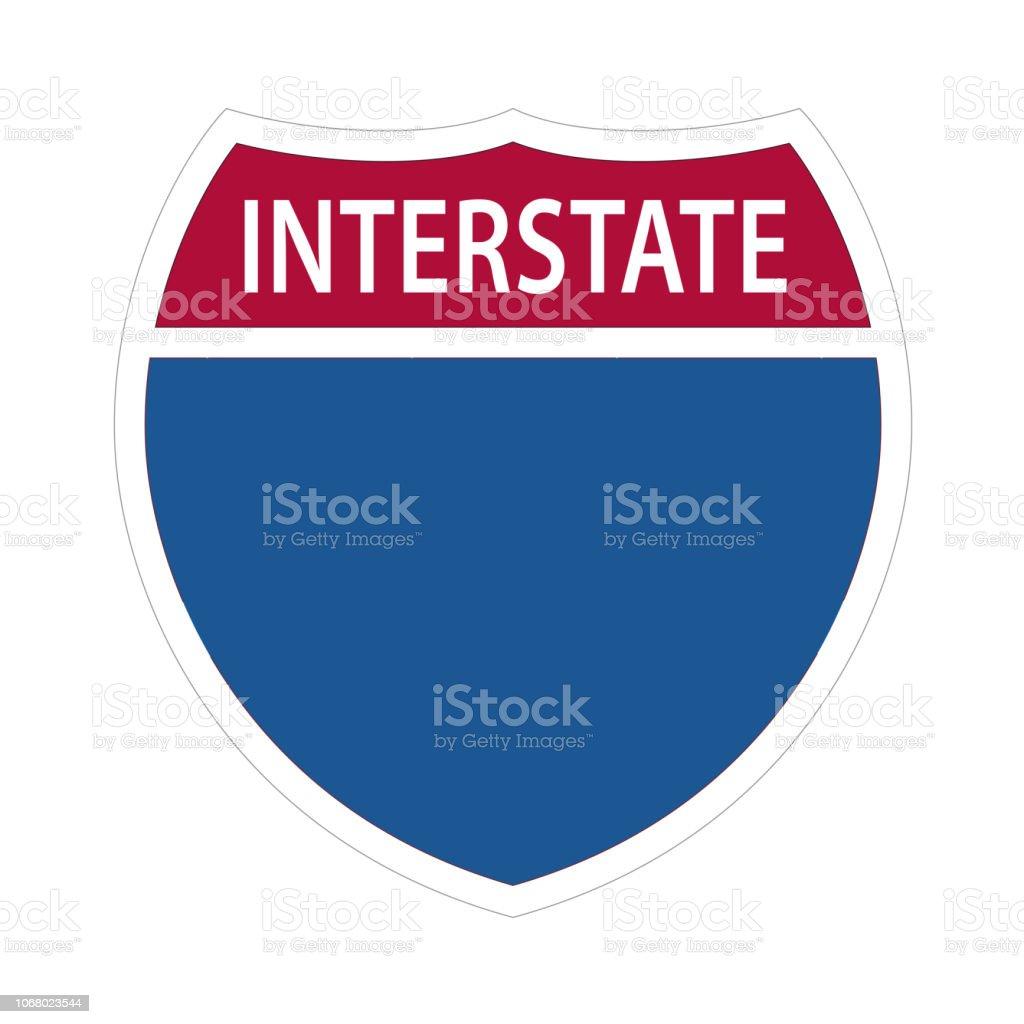 Interstate Highway Signs.