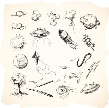 Interstellar Sketches or Drawings