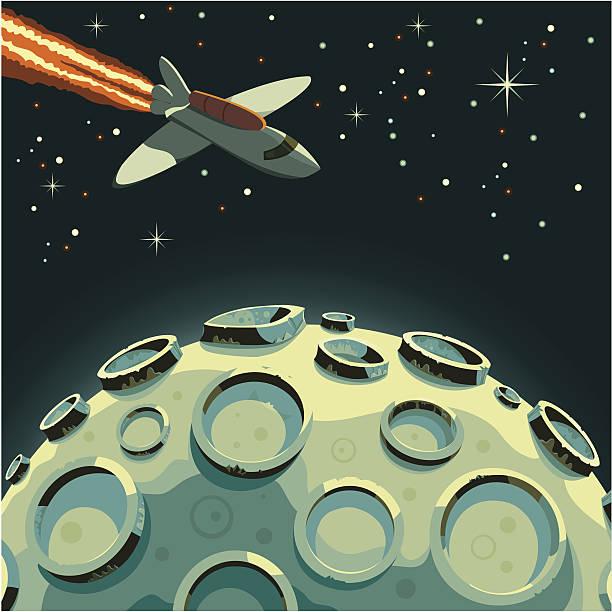 Interstellar vector art illustration