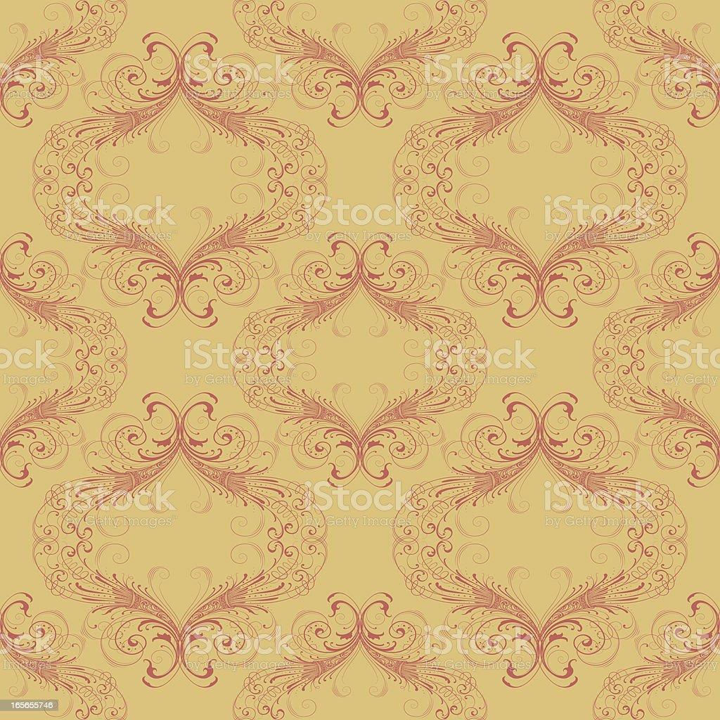 Intricate Wallpaper royalty-free stock vector art