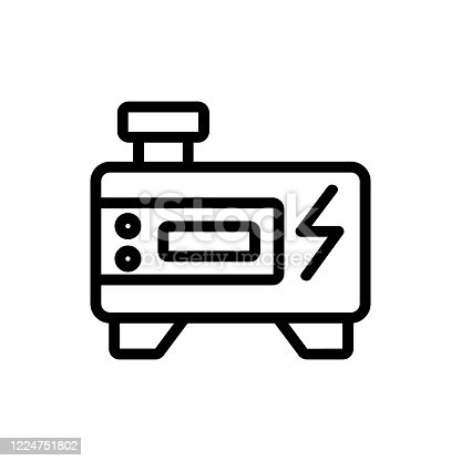 istock inverter generator icon vector outline illustration 1224751802