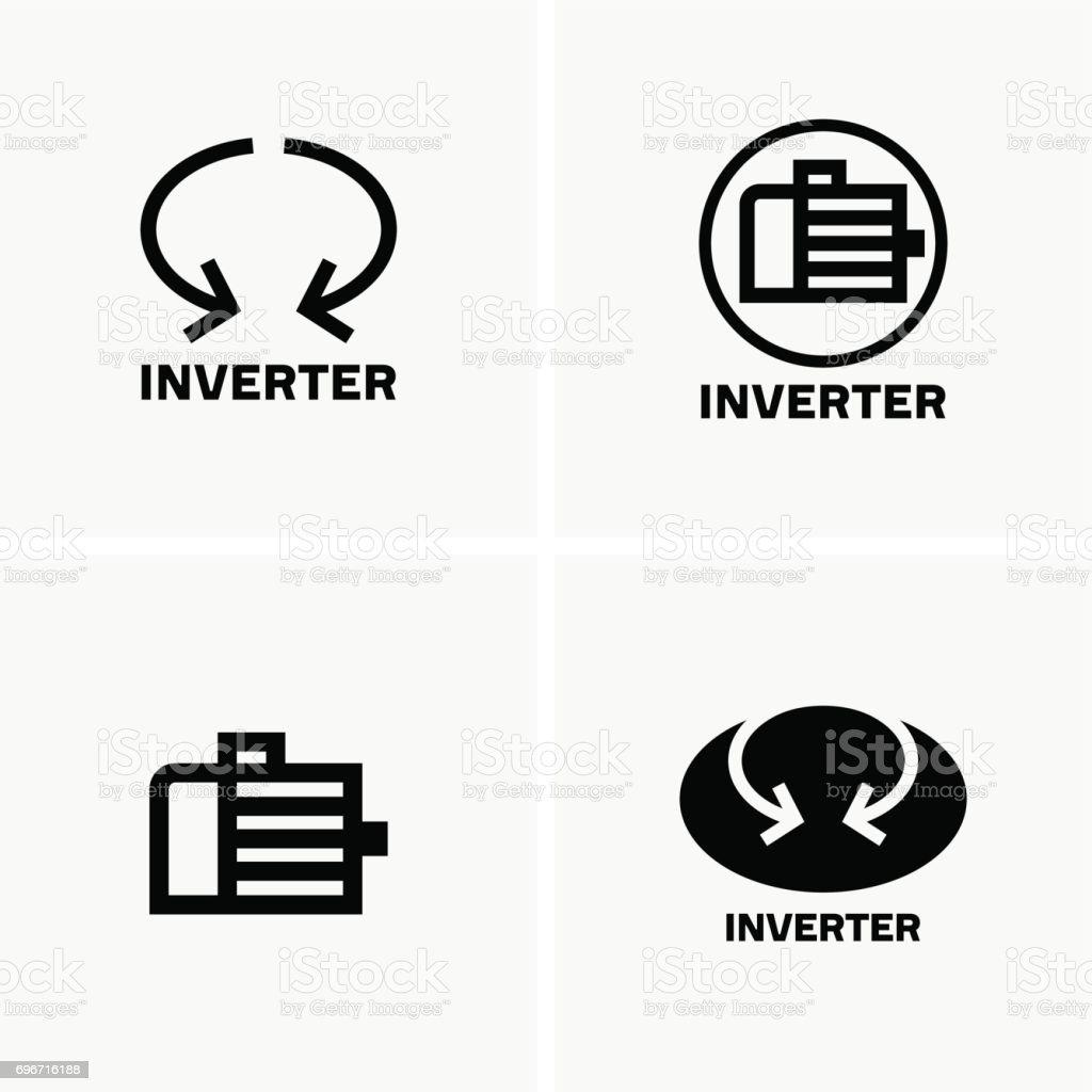 Inverter Motor Symbols stock vector art 696716188 | iStock