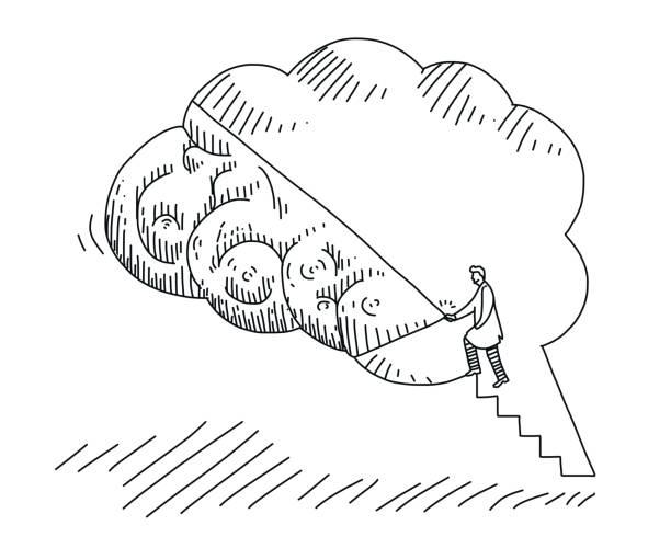 Best Alzheimer's Disease Illustrations, Royalty-Free