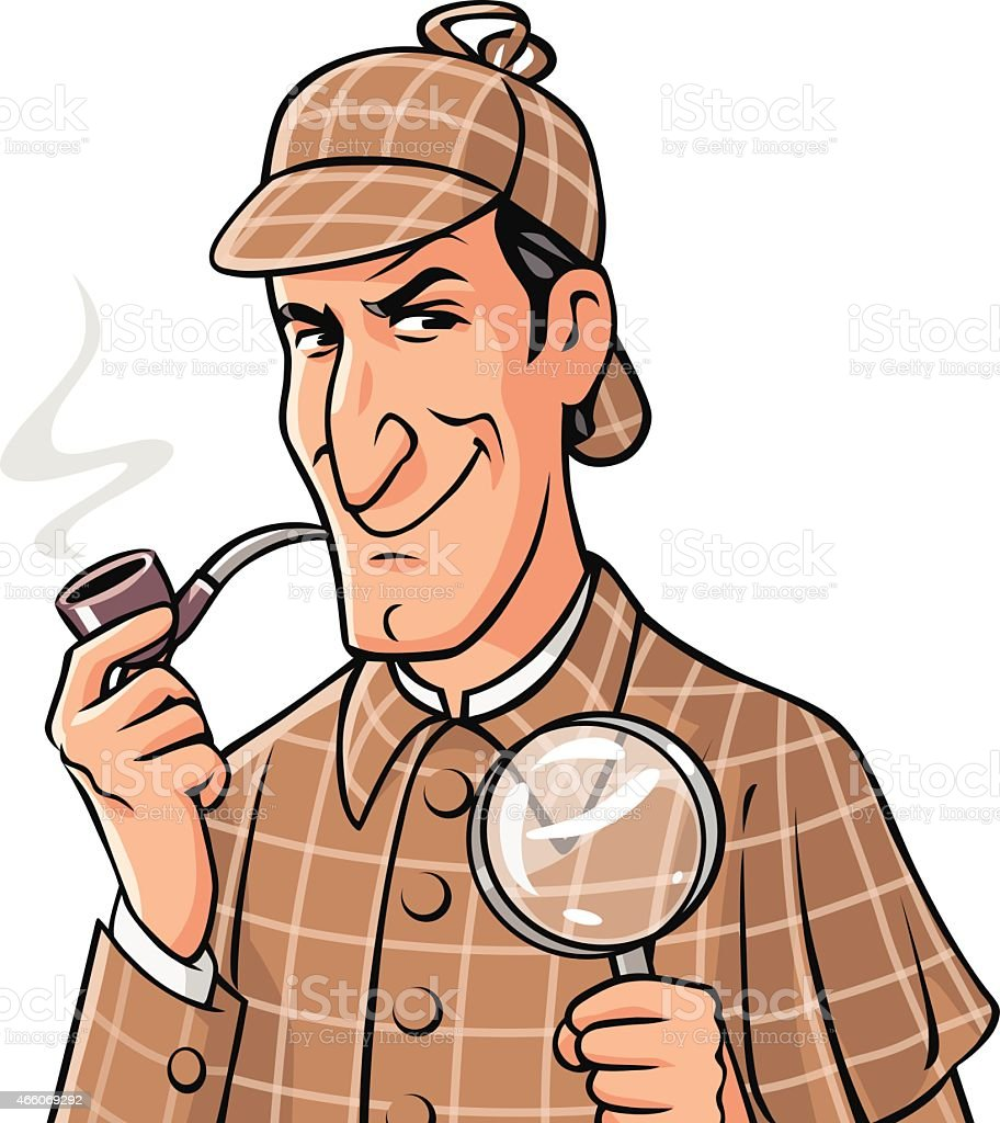 royalty free sherlock holmes clip art vector images illustrations rh istockphoto com pictures of sherlock holmes clip art pictures of sherlock holmes clip art