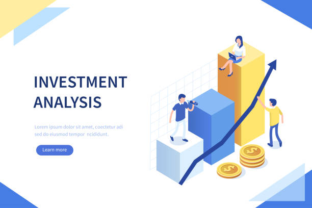 투자 분석 - finance stock illustrations