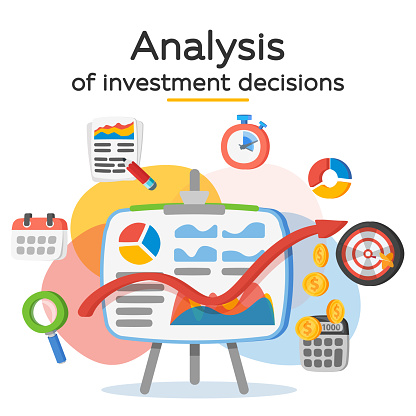 Investment Attraction Case Studies And Analysis Return On Investment Roi Business Profit Profit Schedule Stock Illustration - Download Image Now