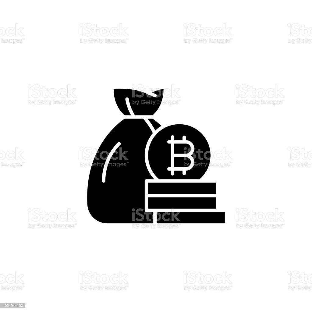 Sconto bitcoin simbolo commerciale Icone Gratuite