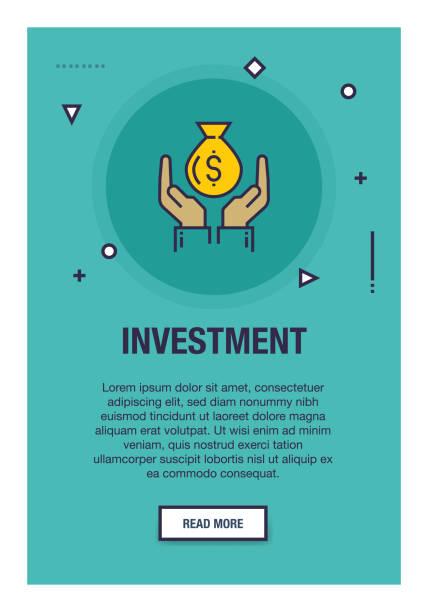 investitionen-onboarding-symbol - splash grafiken stock-grafiken, -clipart, -cartoons und -symbole