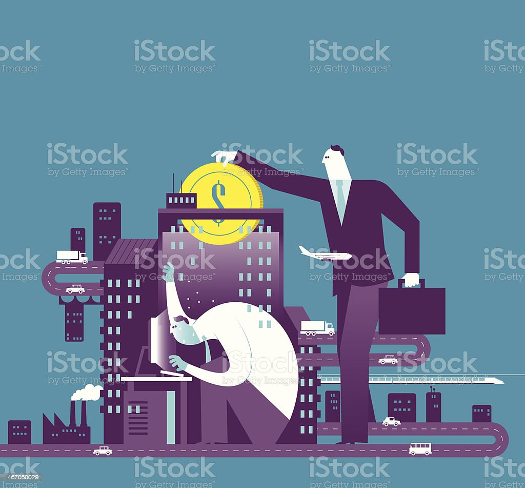 Investment royalty-free stock vector art