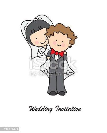 istock Invitación boda 620391474