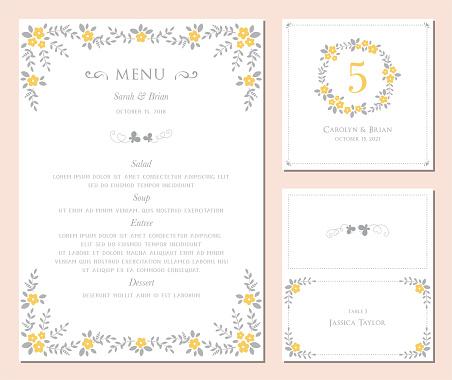 Invitation and Card Design Set_02