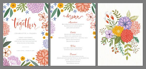 Invitation and Card Design Set_15