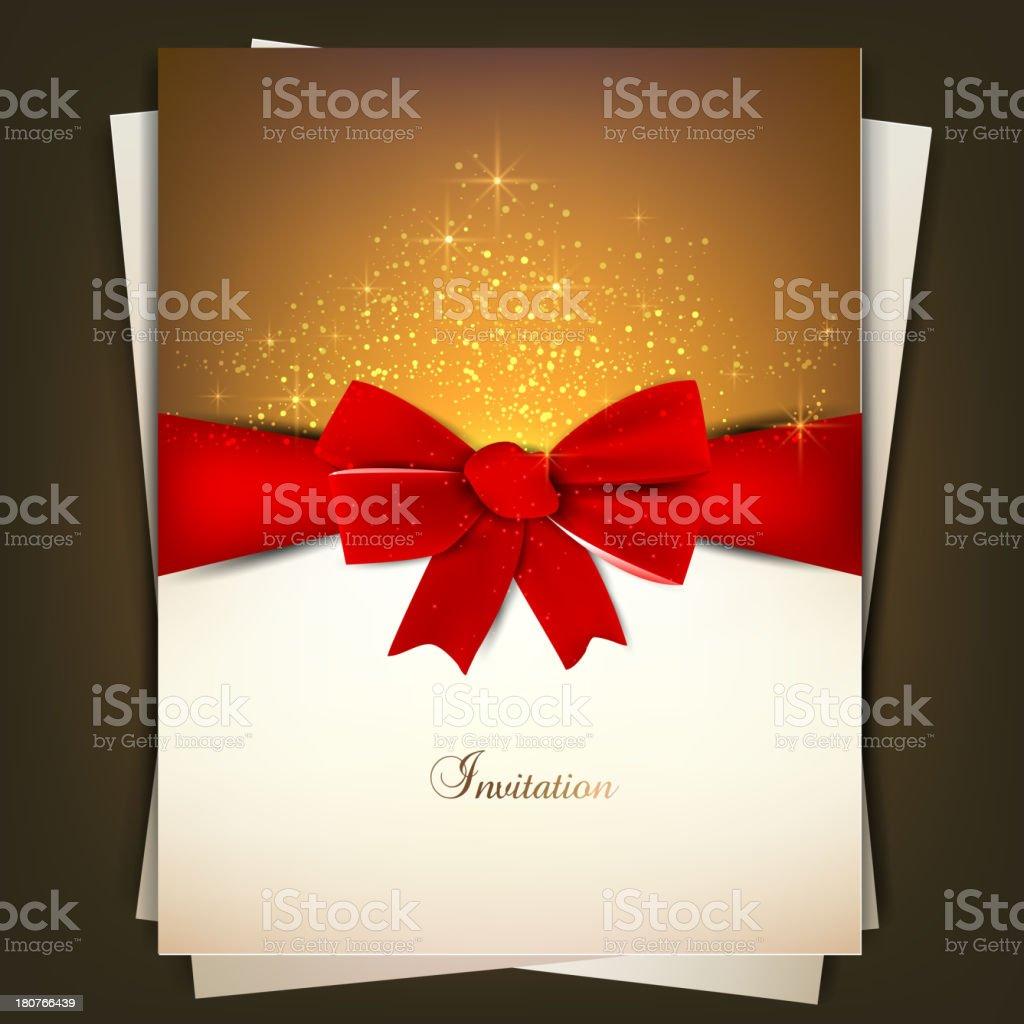 Invitation Background royalty-free stock vector art