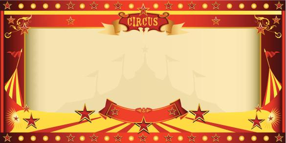 invitation big top circus