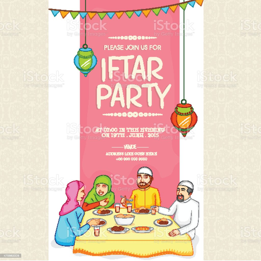Invitation card for ramadan kareem iftar party celebration stock invitation card for ramadan kareem iftar party celebration royalty free invitation card for ramadan stopboris Image collections
