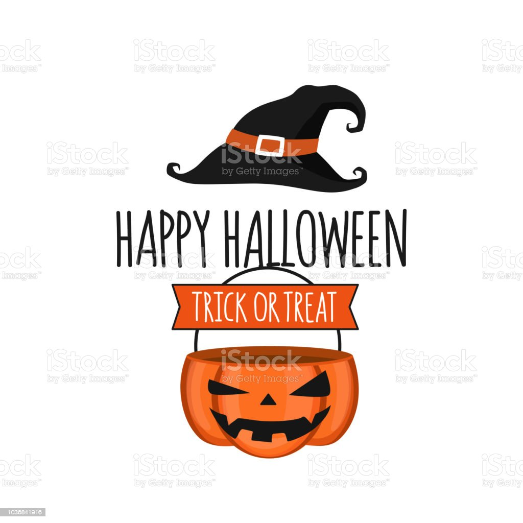 Invitation Card Halloween Party Design Template Jack O