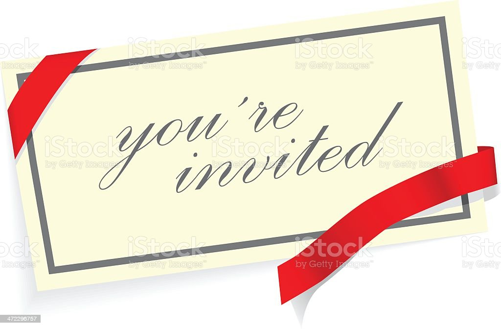 invitation card royalty-free invitation card stock vector art & more images of arts culture and entertainment