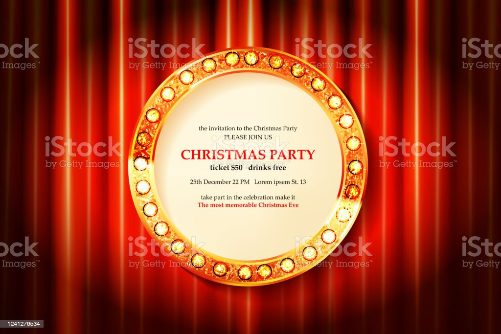 2021 Christmas Ebvent Invitation Merry Christmas Party 2021 Stock Illustration Download Image Now Istock