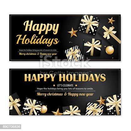ᐈ Imagen De Invitación Feliz Navidad Partido Cartel Banner